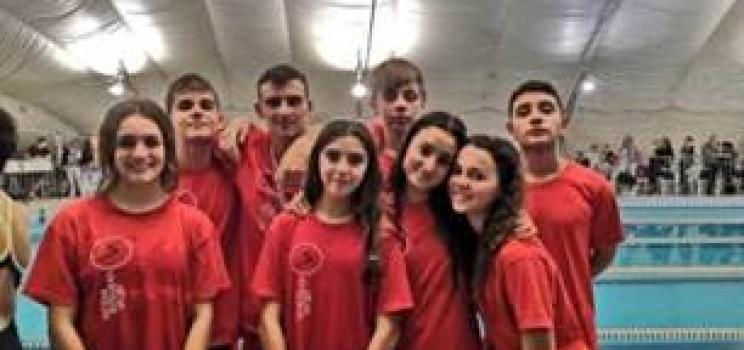 SIS ROMA NP FINALMENTE IN GARA: La squadra fiumicinense all'esordio stagionale nella piscina del Belle Arti